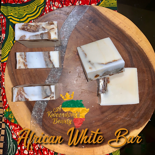 Afrikan White Soap Bar