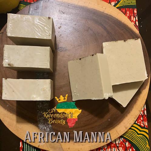 African Manna from Heaven Soap Bar
