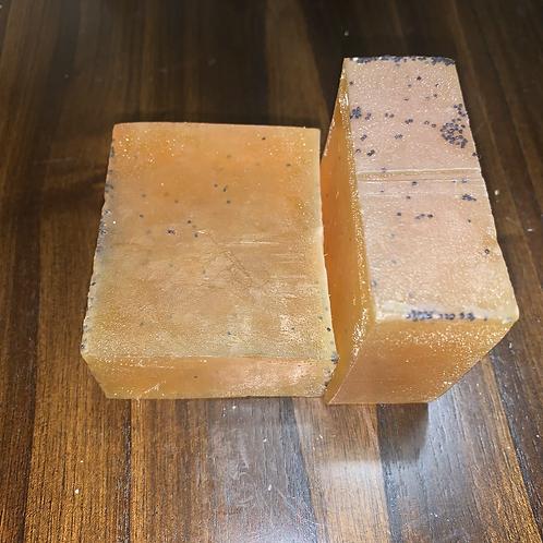 Skin Popping!! Lemon & Poppyseed Soap Bar