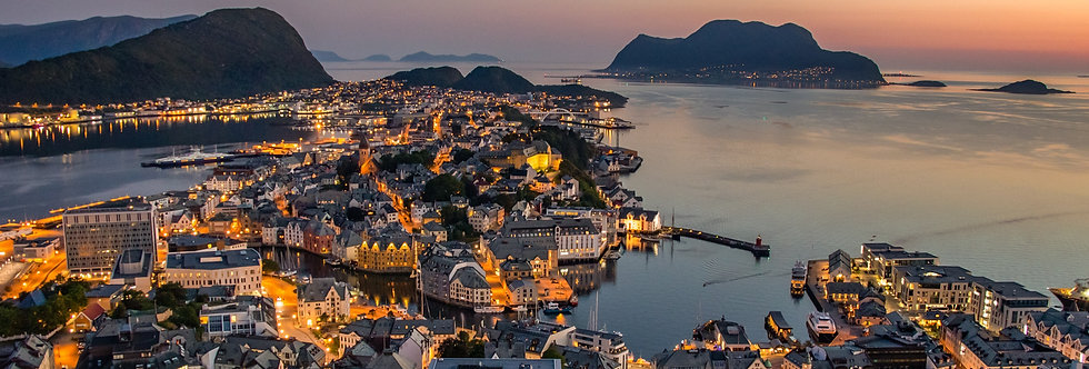 Trondheim to Alesund · 7 days