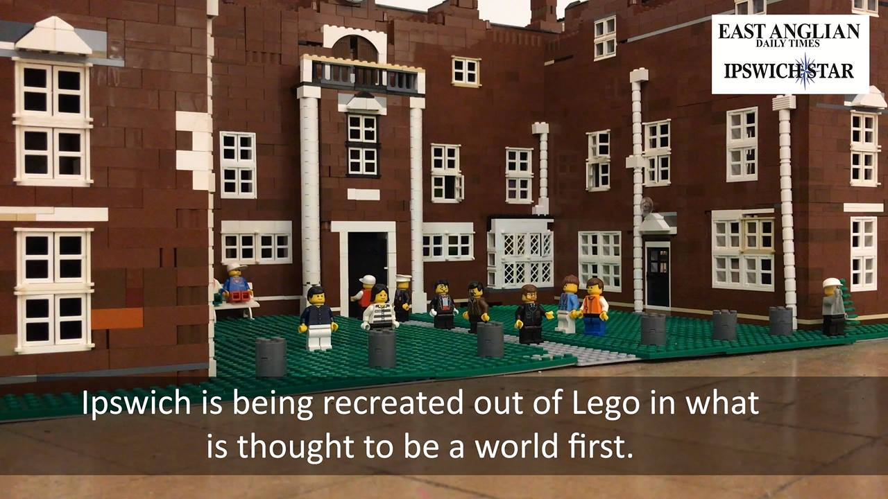 Building Ipswich out of Lego bricks
