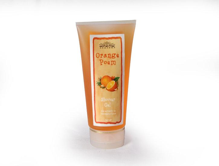 Jabón Líquido Gel Naranja 240g