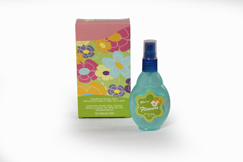 Colonia Melody Flowers 50ml