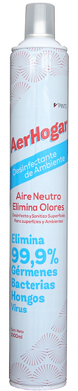 Desinfectante de Ambiente Aerhogar - Aire Neutro Aerhogar 1000ml