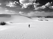 Walking Across Dunes