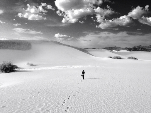 Walking Across Dunes