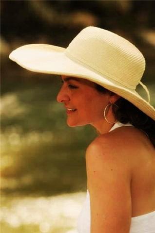Deanna Wulff Outside in Hat