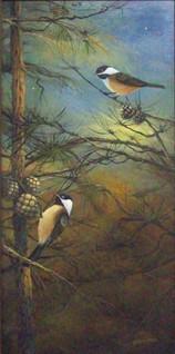Evening Chickadees