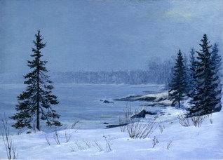 Lake Superior Shore, Winter