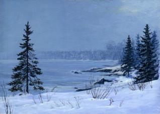 Lake Superior Shore, Winter
