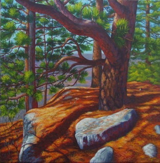 Red Pine, Lost Mountain