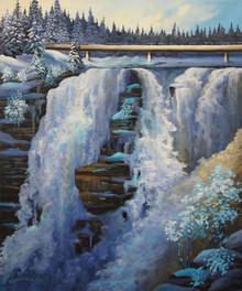 Kakabeka Falls-Winter