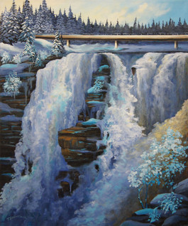 Kakabeka Falls-Winter