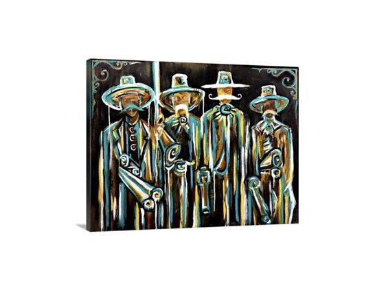 Tombstone // 30x40 Canvas