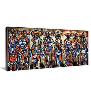 Outlaws // 24x48 Canvas Wrap
