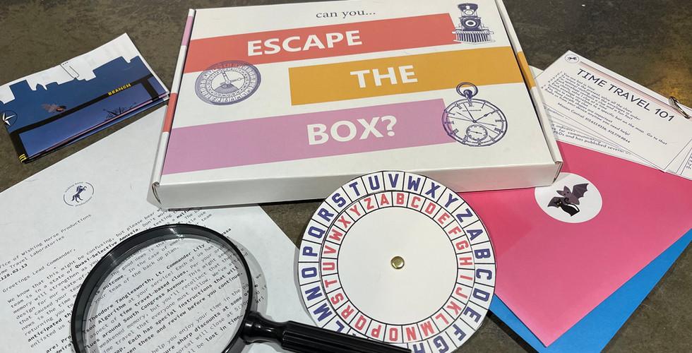 Escape the Box contents