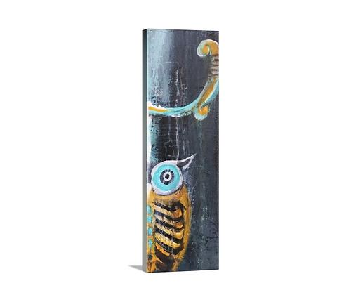 Big Horn Owl - 12x36