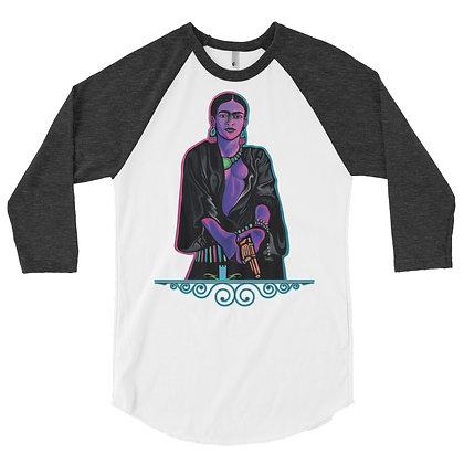 Savage Frida 3/4 sleeve raglan shirt