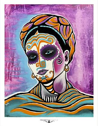 Purple Haze Frida // 11x15