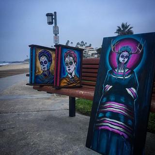 Frida Kahlo Catrinas Laguna Beach.JPG
