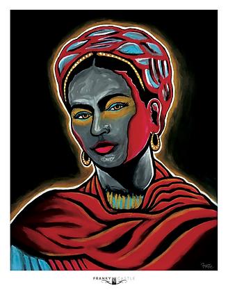 Red Mist Frida // 11x14