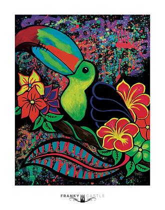 "Tropic Bird // 11""x14"" Print"