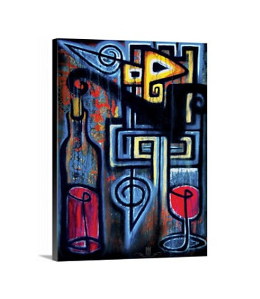 Merlo Wino // 18x24 Canvas