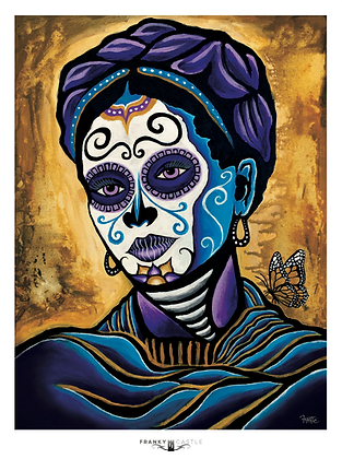 Mariposa Frida // 11x15 Print