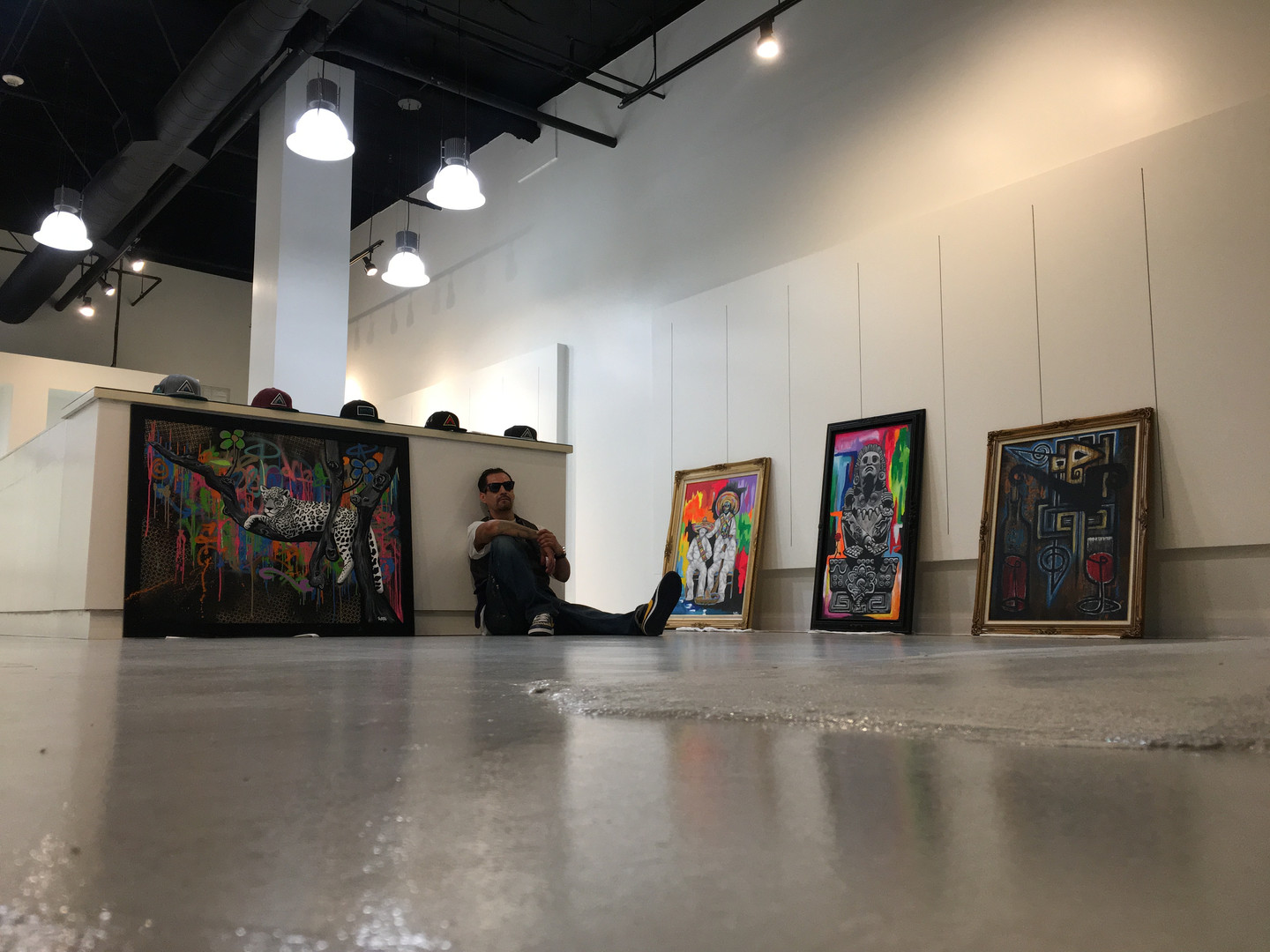 Anaheim Gardenwalk Pop Up Art Gallery 2018
