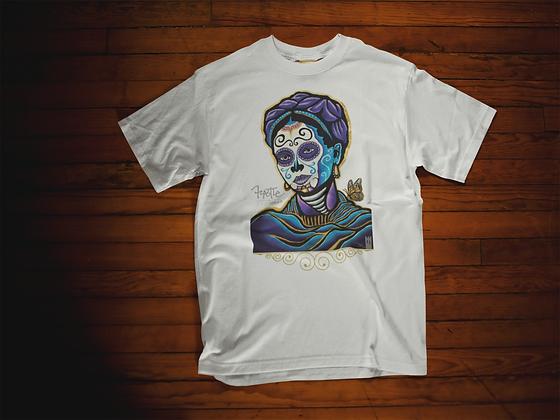 Purple Head Frida // Get Up T-Shirt