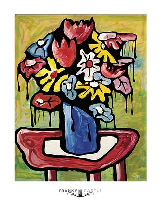 "Valentine Flowers // 11""x14"" Print"