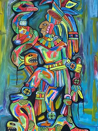 Mayan Culture | 24X48
