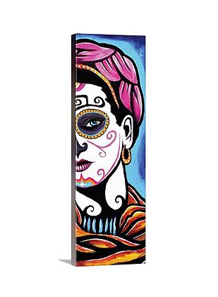 Pink Head Frida Catrina //12x36
