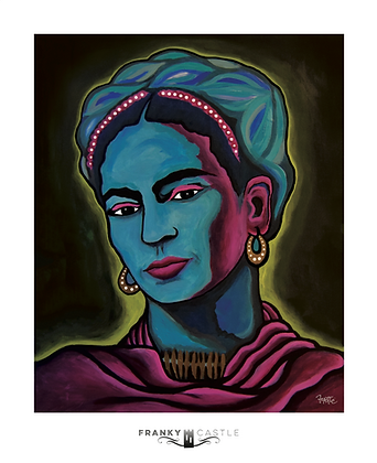 "Saint Frida // 11""x13.5"" Print"