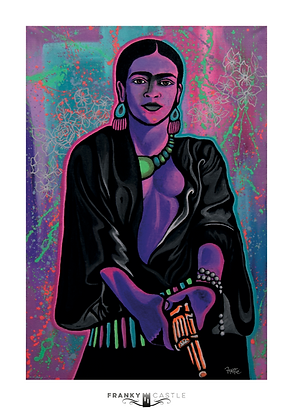 "Savage Frida // 11""x16"""