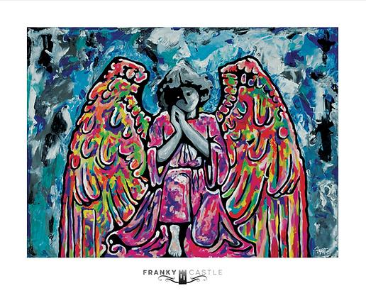 "Guardian Angel // 11""x13.5"" Print"