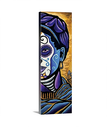 Purple Head Frida Catrina Back //12x36