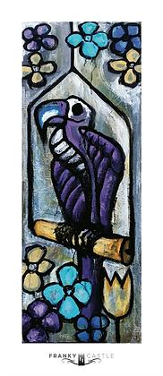 "Vulture // 7.5""x17"" Print"