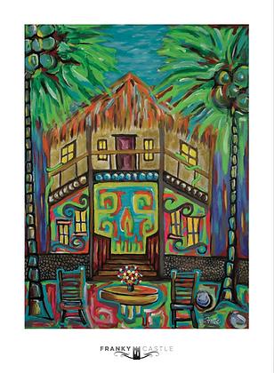 """Jungle Inn // 11""""x15"""" Print"""