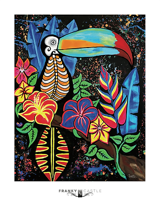 "Paradise Bird // 11""x14"" Print"