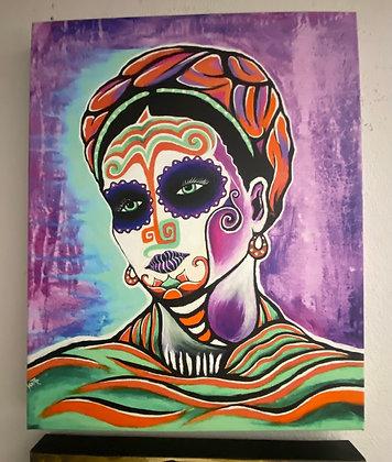 Luz de Luna Frida // 16x20 Canvas