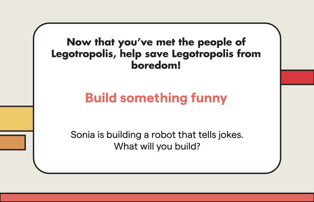 Building Prompt | Something Funny