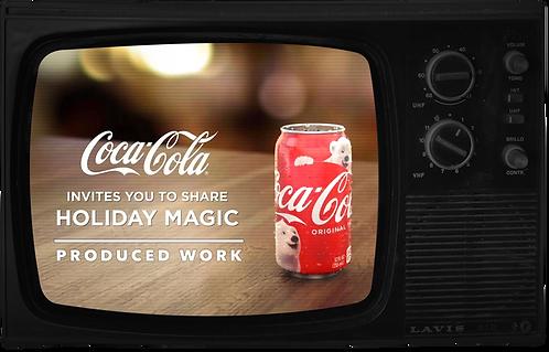 Coca-Cola Produced Work