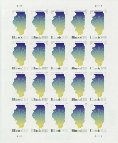 Stamp - USPS Illinois Statehood