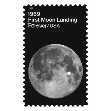 Stamps - 1969 First Moon Landing