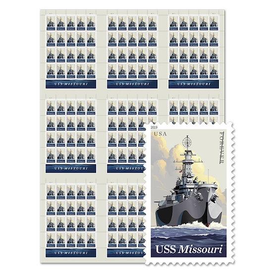 Stamp - USPS USS Missouri