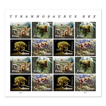 Stamp - USPS New Tyrannosaurus Rex