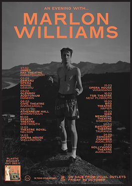 Marlon Williams All Date Tour Poster 202