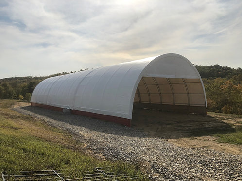 60'W X 25'H - ROUND - DOUBLE TRUSSED