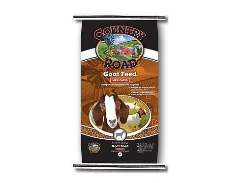 Country Road Pellet Goat Feed - Medicate